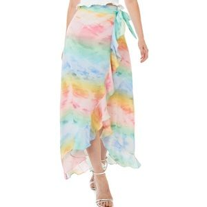 Amanda Uprichard | Tessa Pastel Tie Dye Skirt